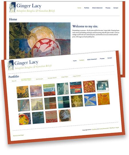 Lacy Prints Web Site