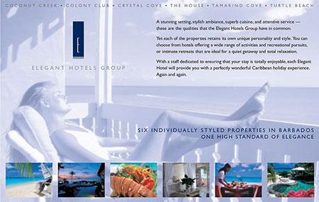 Elegant Hotels Ad
