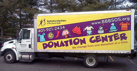 Truck Wrap for BBBSOS
