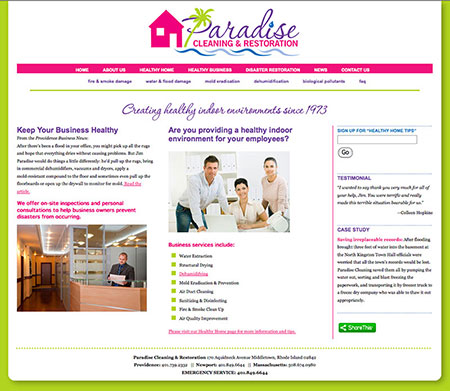 Paradise Cleaning & Restoration