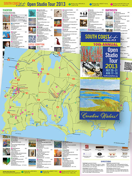 South Coast Artists Brochure
